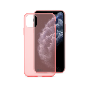 EPICO SILICONE CASE for iPhone 11 Pro - transparent red