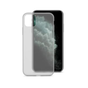 EPICO SILICONE CASE for iPhone 11 Pro Max - transparent black